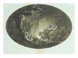 Scene from 'The Magic Flute' by Mozart Giclee Print by  German School