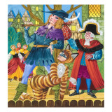 Scene from the Pantomime Dick Whittington Giclee Print by Richard Hook