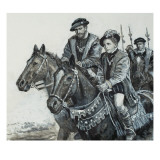 Edward Vi and the Earl of Somerset Giclee Print by Clive Uptton