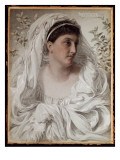 Alcestis: a Portrait of Lady Donaldson, 1877 Giclee Print by Frederick Augustus Sandys