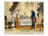 Joseph Ii, Catherine the Great and Frederick Ii Giclee Print by  German School