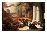 One of the Seven Plagues of Egypt Giclee Print by John Martin