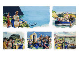 From Then Till Now: at the Seaside Giclee Print by Eric Parker