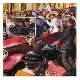 The Assassination of Archduke Franz Ferdinand Giclee Print by Clive Uptton