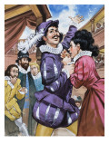 The Taming of the Shrews, by William Shakespeare Giclee Print by Mcbride