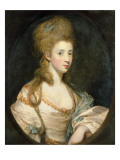 Portrait of Mrs. John Musters C.1777-80 Reproduction procédé giclée par Joshua Reynolds