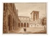 Inside the Palazzo Di Venezia, 1833 Giclee Print by Agostino Tofanelli