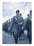 March of Su Storm Troopers, C.1925-30 Giclee Print by  German photographer