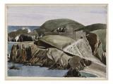 The Road Through the Rocks, C.1926-27 Giclee Print by Charles Rennie Mackintosh