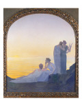 An Evening in Ancient Times, 1908 Giclee Print by Alphonse Osbert