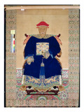 Ancestor Portrait, Late 17th or Early 18th Century Giclee Print by Chinese School 