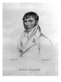 Harry Harmer, Engraved by Hopwood Giclee Print by George Sharples