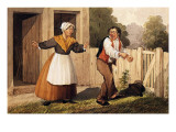 The Drunken Husband, C.1818 Giclee Print by David Claypoole Johnston