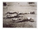 Dead on the Field of Gettysburg, July 1863 Giclee Print by American Photographer 