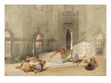 The Mausoleum of Sultan Mohmed, Brusa Giclee Print by Thomas Allom