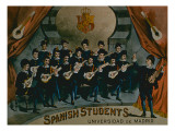 Spanish Students, University of Madrid' Reproduction procédé giclée par American School
