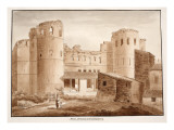 The Porta Asinaria or Coelimontana, 1833 Giclee Print by Agostino Tofanelli