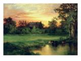 Easthampton, Long Island, 1897 Premium Giclee Print by  Moran