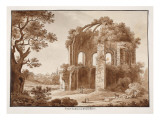 The Temple of Minerva Medica, 1833 Giclee Print by Agostino Tofanelli