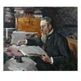 Portrait of Nikolai Andreyevich Rimsky-Korsakov Giclee Print by  Serov