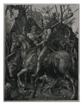 Knight, Death and the Devil, 1513 Giclée-Druck von Albrecht Dürer