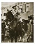 Venustiano Carranza on Horseback, C.1913 Giclee Print