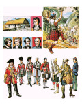 The Story of Scotland: End to Ane Auld Song Giclee Print by Escott