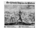 The Pilgrim of Palatinate', Frederick V Giclee Print by  German School