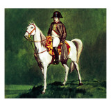 Napoleon on His Favourite Charger, &#39;Marengo&#39; Giclee Print by McConnell 
