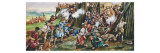 Storming of the Fortress of Neoheroka Giclee Print by Ron Embleton