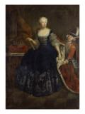 Elisabeth Christine Von Braunschweig as Queen Giclee Print by  Pesne