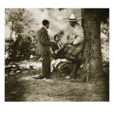 Pancho Villa on His Ranch, 1920-23 Giclee Print by Gerald Brandon