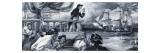 George Walker Capturing the 'Glorioso', 1969 Giclee Print by Paul Rainer