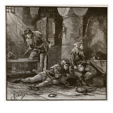 Escape of Roger Mortimer from the Tower Giclee Print by Charles Ricketts