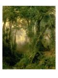 A Hunter in the Cuban Jungle, Sunrise, 1869 Giclee Print by Henry Cleenewerck