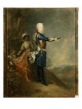 Frederick Ii as Crown Prince, C.1735 Giclee Print by Georg Wenceslaus von Knobelsdorff