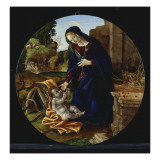 The Rest on the Flight into Egypt Giclee Print by Filippino Lippi