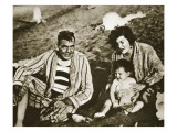 Plutarco Elias Calles with His Family Premium Giclee Print