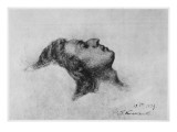 Frederic Chopin on His Deathbed, 17th October 1849 Giclee Print by Antar Teofil Kwiatowski
