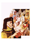 Pioneer of the Printed Word: William Caxton Giclee Print by Ralph Bruce