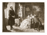 John Knox Reproving Mary, Queen of Scots Giclee Print by William Powell Frith
