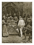 An Early English Embassy to India, 1599 Giclee Print by Richard Caton Woodville II