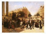 Place De La Madeleine, Paris, 1857 Giclee Print by David Jacobsen