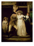 The Story of Laetitia: 'The Tavern Door' Giclee Print by Morland