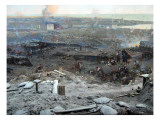 The Siege of Sevastopol Panorama Giclee Print by  Roubaud