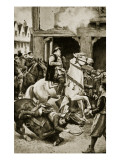 The Assassination of Moray, 1570 Giclee Print by Walter Paget