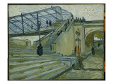 The Bridge at Trinquetaille Giclee Print by Vincent van Gogh
