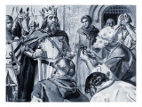 The Surrender of the Burghers of Calais Giclee Print by Paul Rainer