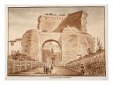 Tomb of Saint Helena, Via Labicana, 1833 Giclee Print by Agostino Tofanelli