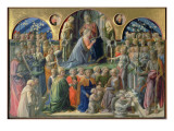 The Coronation of the Virgin, 1441-7 Gicle-tryk af Fra Filippo Lippi
